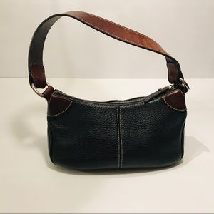 Dooney & Bourke Black Leather Hand Bag